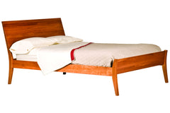 Monarch Bed in Cherry with Natural Finish