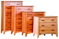 Willow Chest in Cherry with Natural Finish - finish darkens with age
