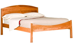 Willow Moondance Bed in Cherry with Natural Finish