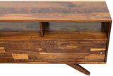 72-inch Wide Divisadero Media Console  with Open Shelving