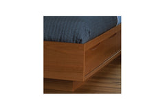 Vegas Storage Bed in Cherry with Natural Finish