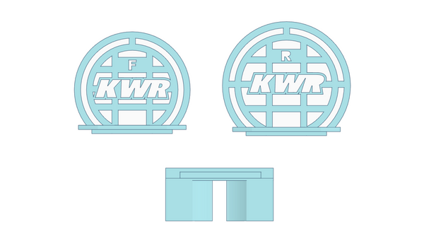 KWR Wheel Arch Marker (1/12th)