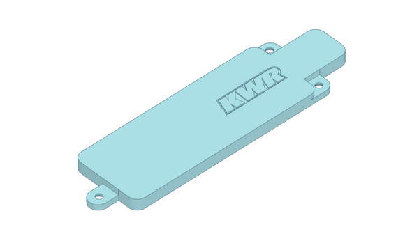 KWR X-Ray RX8E Base Plate (Rear)