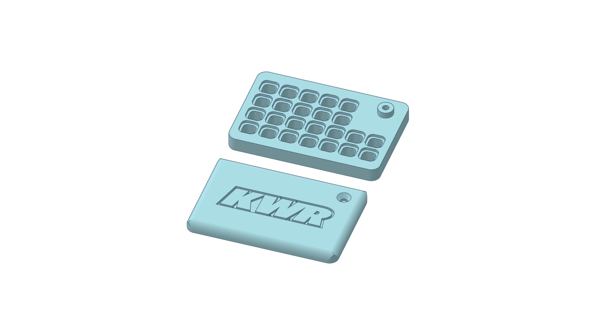 KWR X-Ray T4 Pill Box