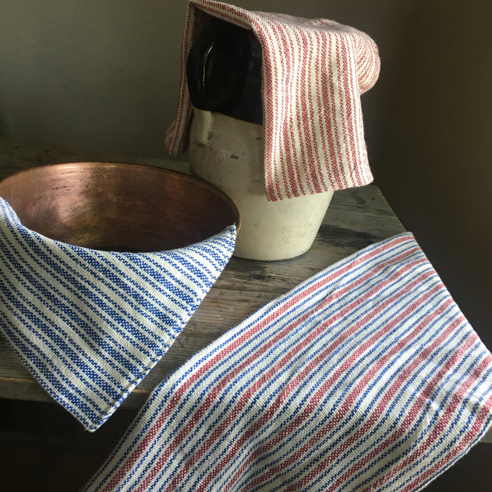 Hand-Woven Cotton Towels
