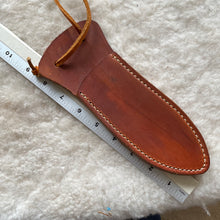 "Load image into Gallery viewer, Leather Knife Sheath ""G-Medium"" length."