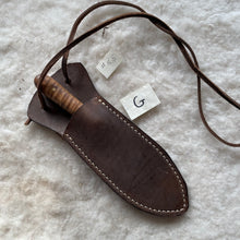 "Load image into Gallery viewer, Leather Sheath ""G-Medium"""
