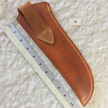 "Load image into Gallery viewer, Leather Knife Sheath ""A"" back"