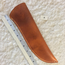 "Load image into Gallery viewer, Leather Knife Sheath ""A"" front"