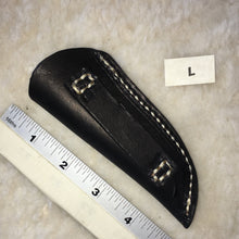 "Load image into Gallery viewer, Leather Knife Sheath ""L"" Back"