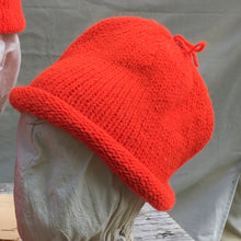 Load image into Gallery viewer, Rolled Toque in King's Orange (Hunter Orange)
