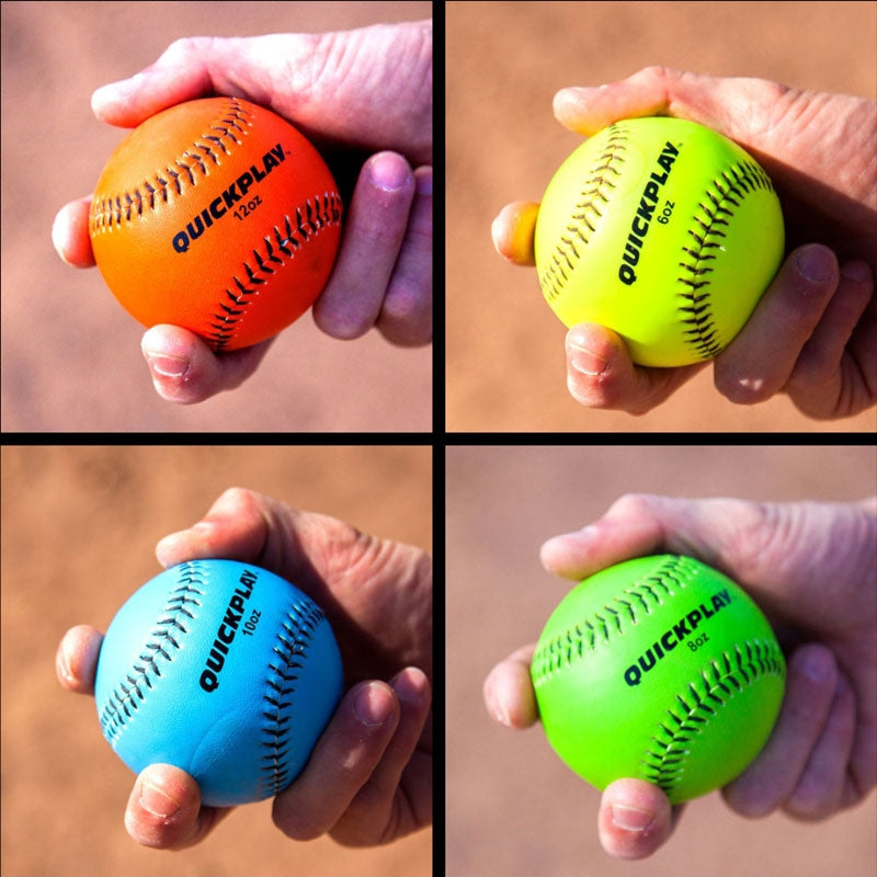 Weighted Baseballs Set Of 4 6oz 8oz 10oz 12oz Weighted Training Baseball Weighted Pitching Balls For Throwing Pitching Training