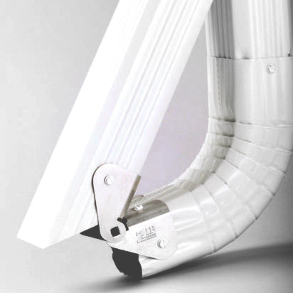 Zip Hinge Gutter Downspout Extension Solution The