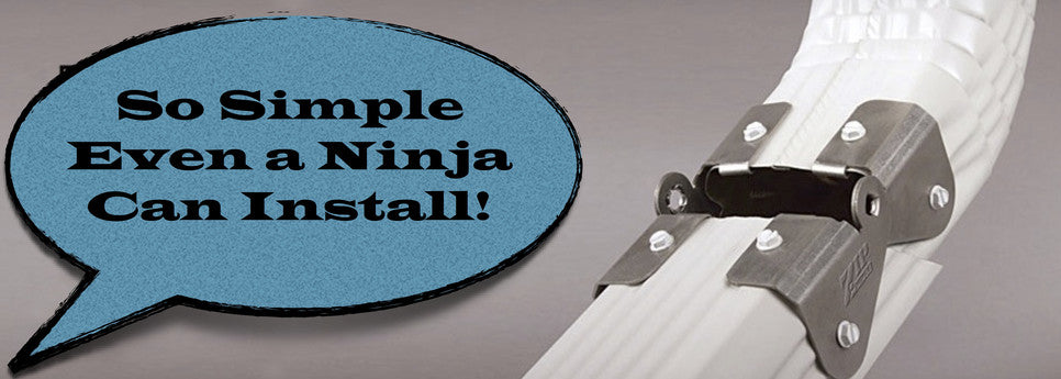 Zip Hinge The Gutter Ninja