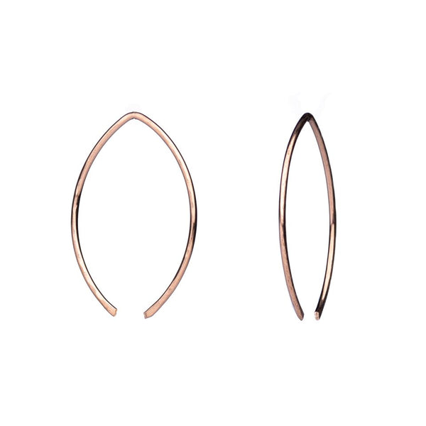 Minimalist Hoop Earrings - Gold or Silver