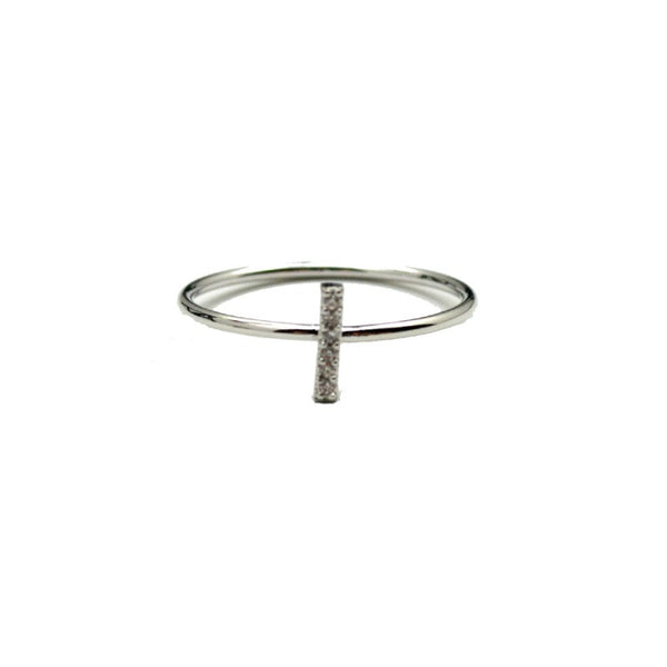 Stick Ring - Silver - A Jewelry Wonderland