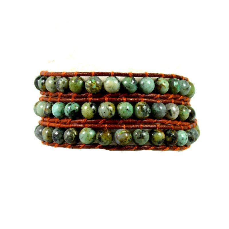 Three Wrap Bracelet - Africa - A Jewelry Wonderland  - 1