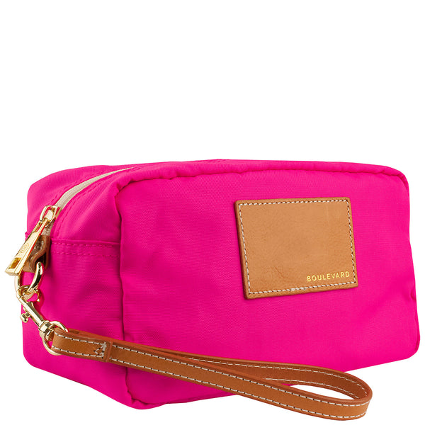 Cosmic Foxtrot Make-Up Bag - Pink - A Jewelry Wonderland  - 1