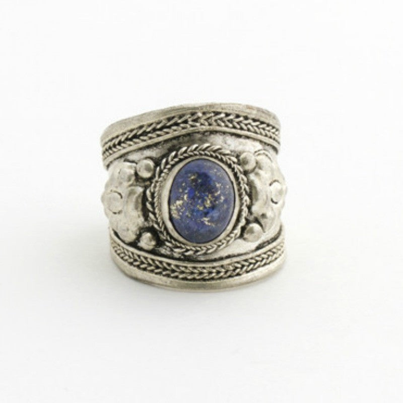 Lady Lazuli Ring - Lapis - A Jewelry Wonderland