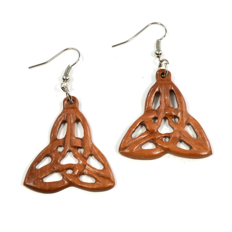 Sawo Wood Earrings - Raj - A Jewelry Wonderland