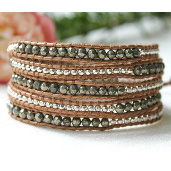 Wrap Bracelet - L.A. - A Jewelry Wonderland  - 1