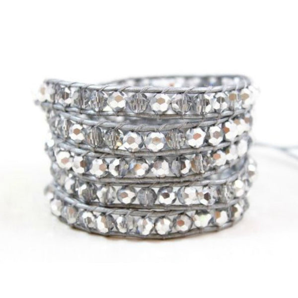Wrap Bracelet - Mirror - A Jewelry Wonderland  - 2