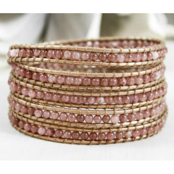 Wrap Bracelet - Porcelain - A Jewelry Wonderland  - 1