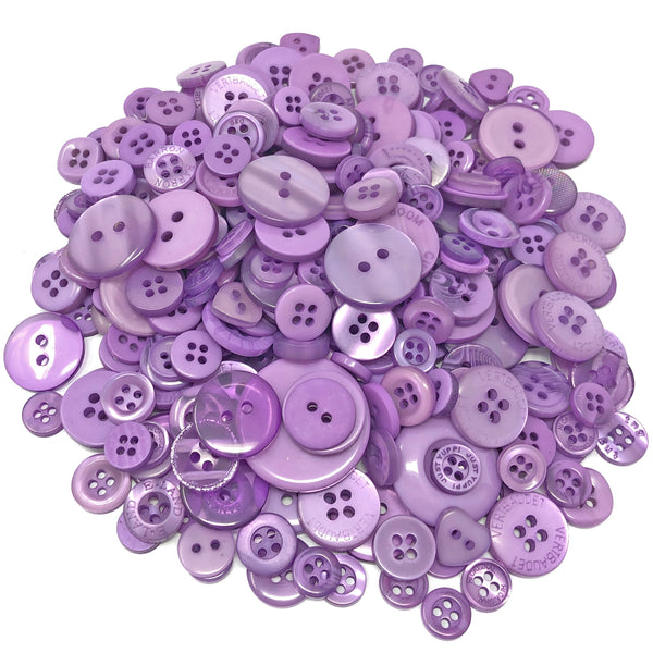 100g Bags Of Mix Acrylic & Resin Buttons