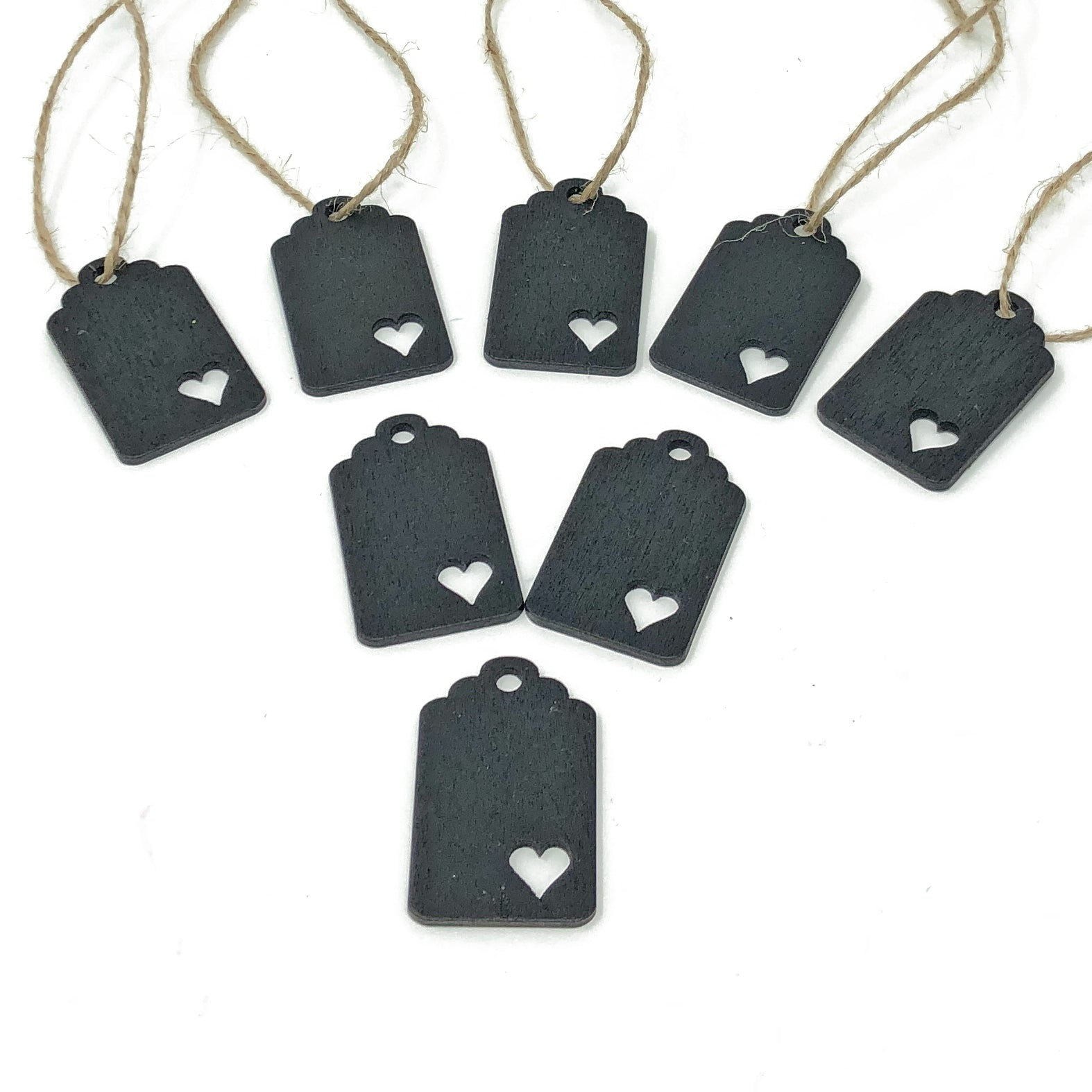 Mini Wooden Chalkboard Tags for Wedding Table Name Tags