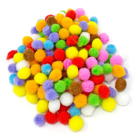 8mm Mini Pom Poms