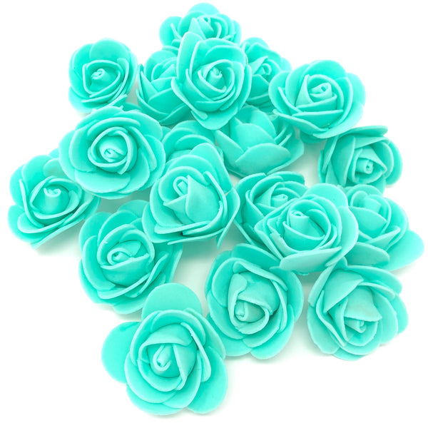 30mm Foam Rose Flowers