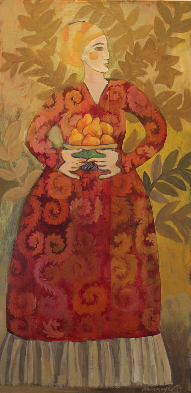 Woman with Pears