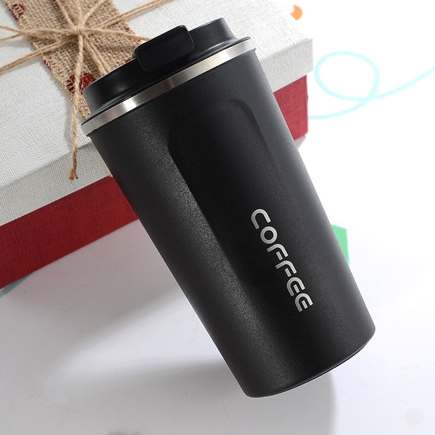 Double Stainless Steel Coffee Mug - Explore Roast