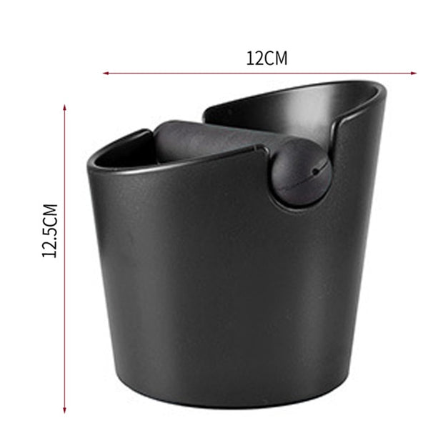 Coffee Grind Dump Bin with Detachable Knock - Explore Roast