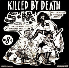 V/A KILLED BY DEATH Vol. 8.5 LP / Tape