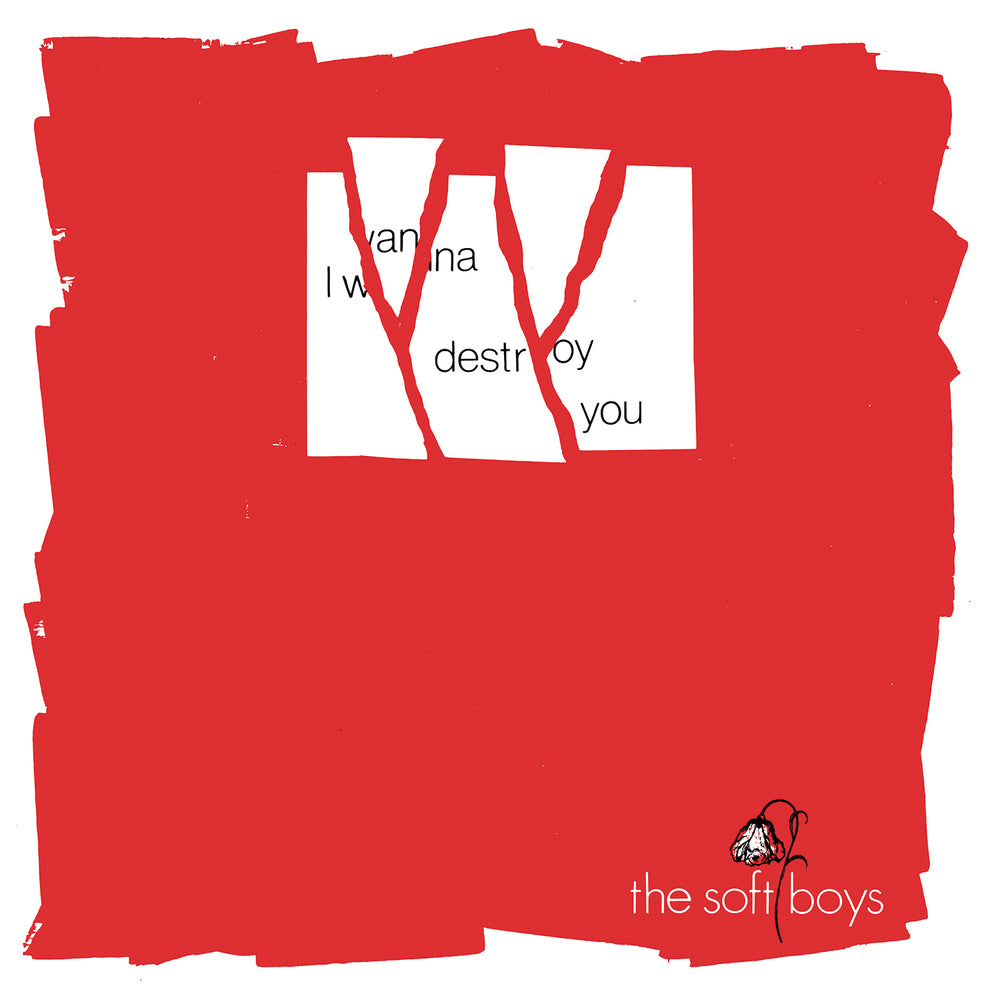 SOFT BOYS- I Wanna Destroy You/ Near The Soft Boys 2x7""
