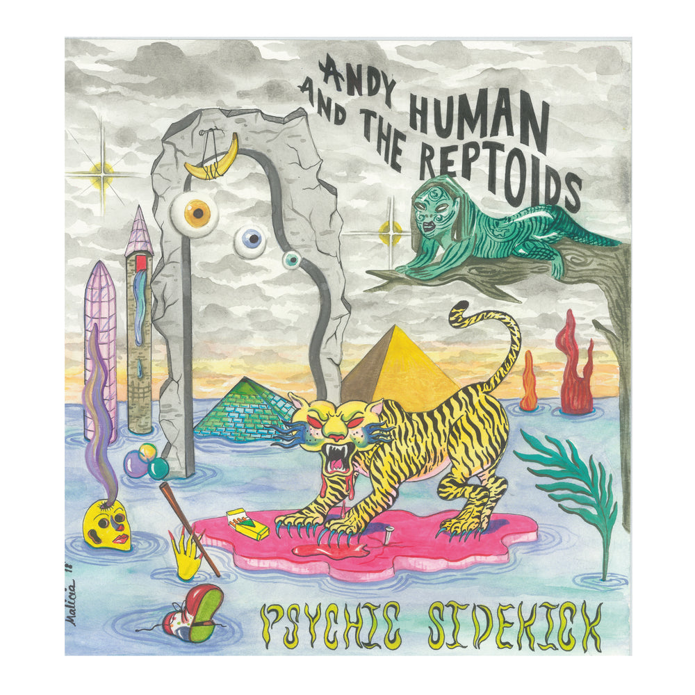 * HUMAN, ANDY & THE REPTOIDS- Psychic Sidekick LP