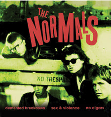 "NORMALS- Demented Breakdown 7"" on Last Laugh"