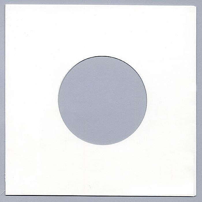 White Paper 45 RPM Record Sleeves 20 Weight Acid-Free Paper