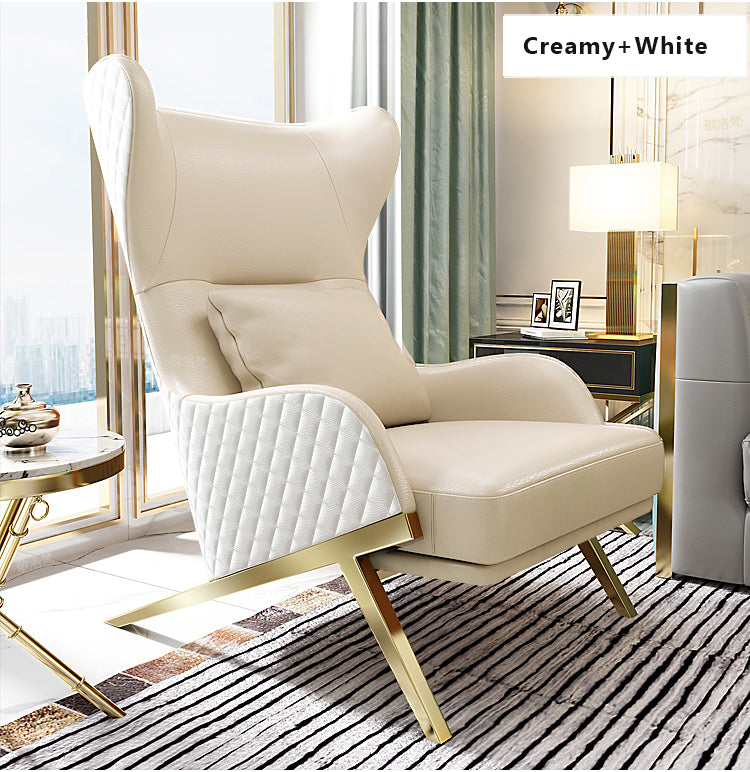 Italy designed Light luxury armchair for living room  YL600 - IdeaHome24 - Home Decor ideahome24.com