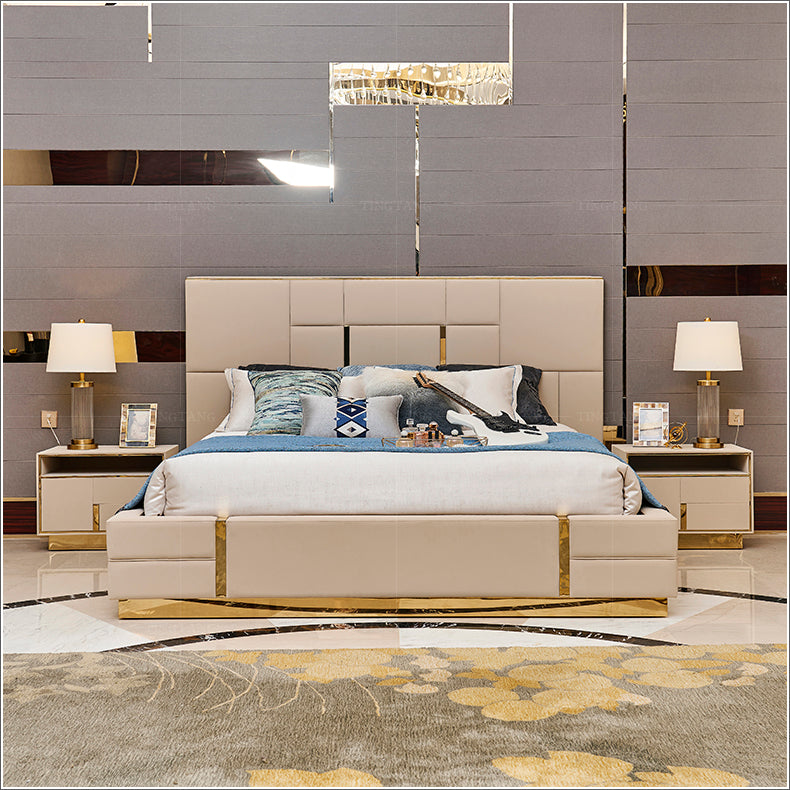 Ideahome24 Italy style light luxury bedroom bed Victoria B002 - IdeaHome24 - Home Decor ideahome24.com