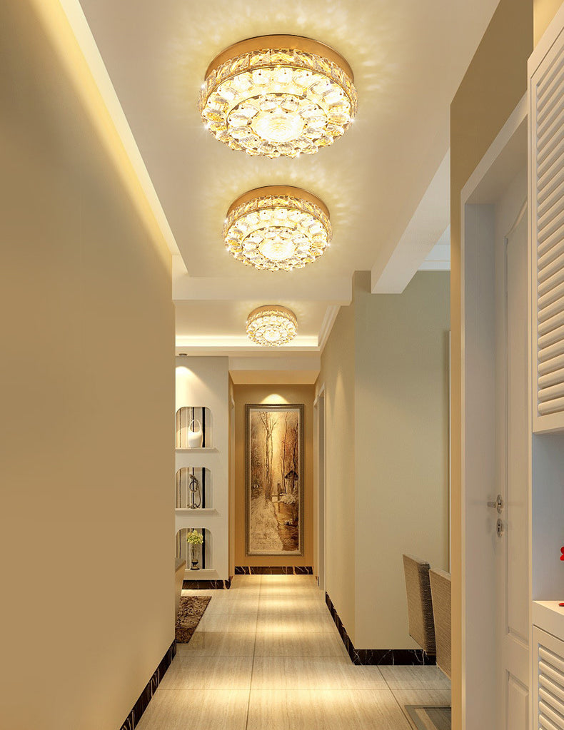 Luxury Crystal celling light SJ01 - IdeaHome24 - Home Decor ideahome24.com