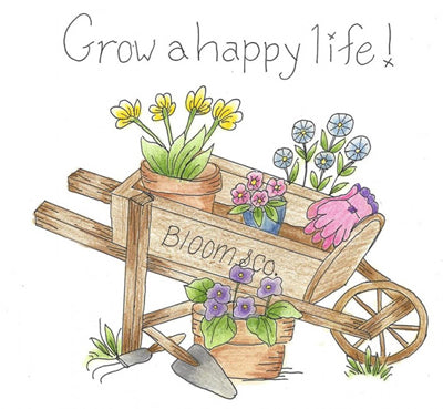 Carol Louise Designs Grow A Happy Life