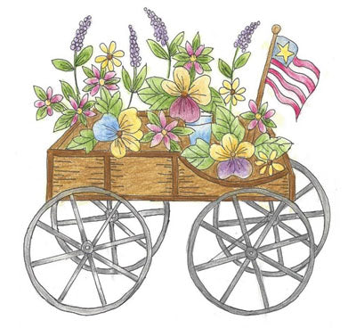Carol Louise Designs The Flower Cart