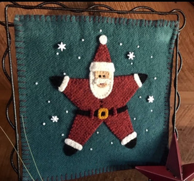 Calico Patch Santa Star