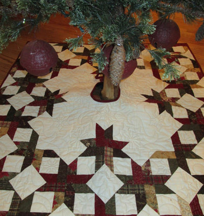 Creek Side Stitches Country Christmas Tree Skirt