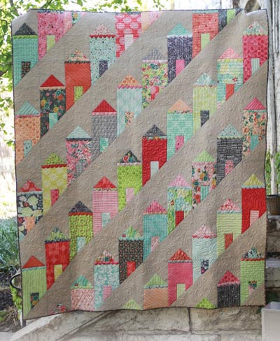 Eye Candy Quilts  Painted Ladies