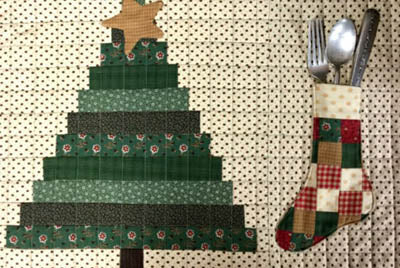 FarmHouse Threads Christmas Placemat