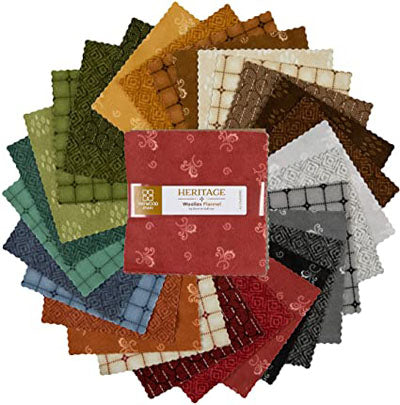 Heritage Woolies Flannel Fat Quarters