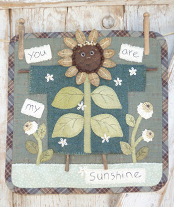 Clothesline Sunflower
